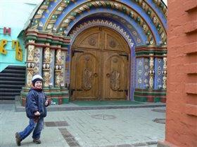 Вход в ресторан Борис Годунов