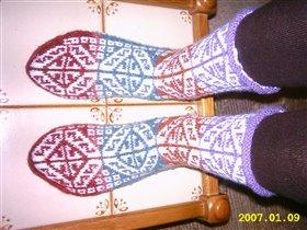 Носки по-турецки
