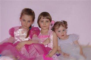 Три принцессы феюшки