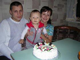 это был первый праздник для нашей семьи...