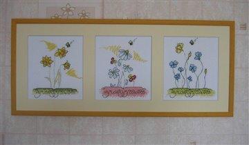 Мои любимые цветочки от Млодецкой