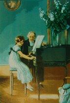 Goblenset - Урок игры на клавесине