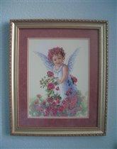 Розовый ангел от Dimensions