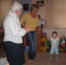 Мамин день рождения- танцуют все!!!