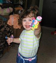 Я девчушка-хохотушка:)