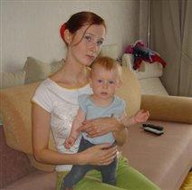 Мама и я, дружная семья :)