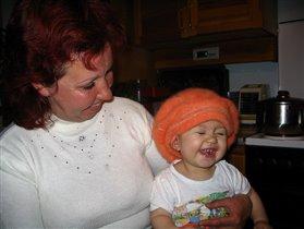 Ой, бабушка такой смешной анекдот рассказала