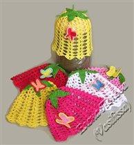 Панамочки-цветочки с опылителями ;))