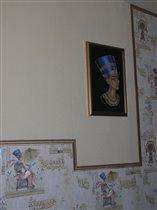 Нефертити как часть интерьера