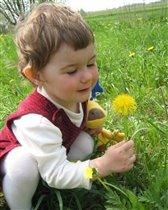 В траве сидел кузнечик :)