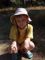 А мы в лесу нашли черепашек!