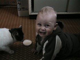 Я тоже хочу молочка