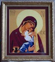 Икона Ярославской Божьей Матери - общий вид
