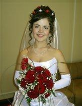 В комнате невесты.