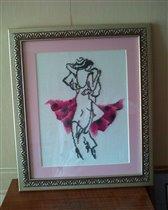 Танго розовое