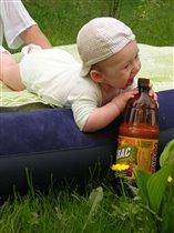 'Жарко! Не попить ли мне кваску :)'