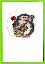 открытка с ёжиком