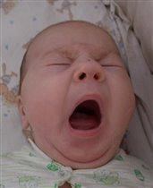 Таисья зевает....
