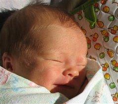 Здравствуй, солнышко, я родилась!