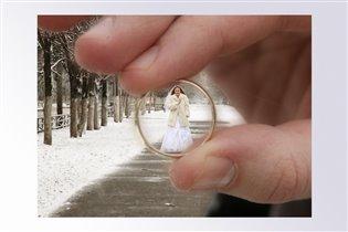 В фокусе - невеста!