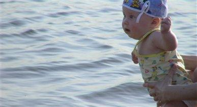 мой первый заплыв