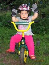 Велогонщица