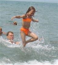 А я иду, танцую на воде!