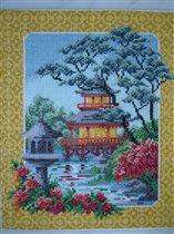 Японские мотивы. Пагода.