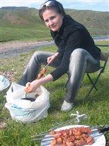 А Вы пробовали шашлык в Казахских степях?...