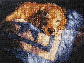 Спящий щенок от Dimensions