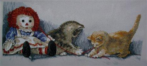 Dim озорные котята
