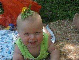 Я маленький грибочек и все еще расту!