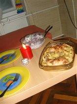 Небольшой романтический ужин