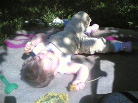 Я на солнышке лежу.. Я на солнышко гляжу..