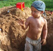 Тарзан решил стать шахтёром...