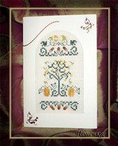 открытка в рамках своместного открыточного проекта 'Осенняя радуга'