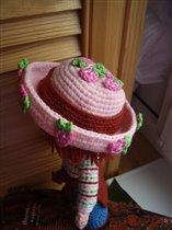 Шляпа Земляничкм