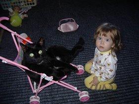 Лучше кукол - только КОТ!!!:))
