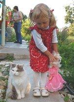 Настя и самые любимые :))