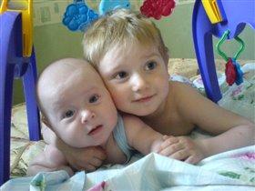 братик+сестренка=любовь