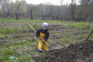 Дров наколи, воды принеси, огород перекопай...