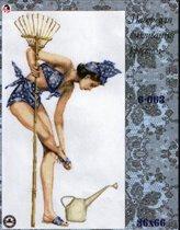 Девушка-садовница