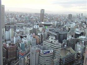 Вид из окна отеля ( с 31 этажа)