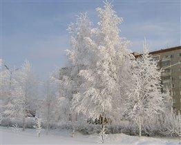 Зима в Ижевске