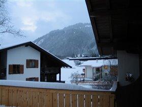 Вид из окна отеля ,г.Кетцбуль, Австрия