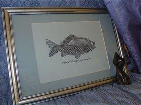 Подарок еще одному рыболову :-)