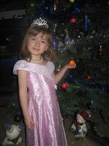 С Новым Годом!!! Диана, 4 года.