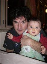 Папа с сыном.