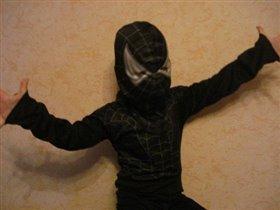Чёрный человек-паук