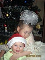 Мини Дед Мороз и Макси снегурка